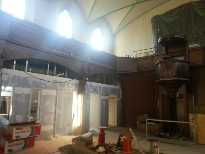 Umbau Kirche el